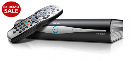 sky hd box ex demo