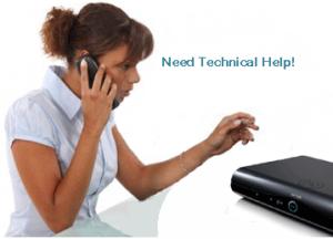 Tech help lady