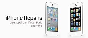 picture of broken iphone screen
