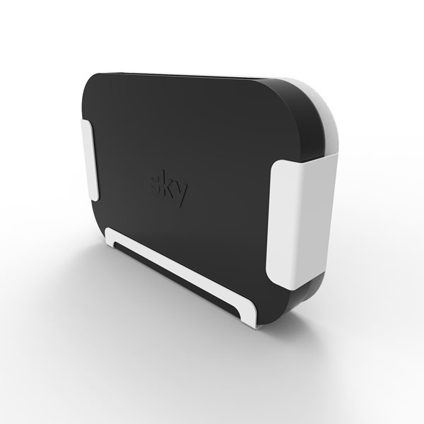 Sky Q Mini holder white